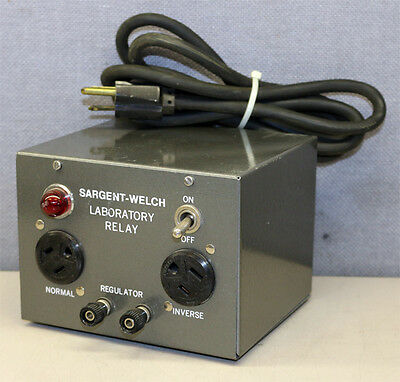Sargent-Welch Scientific Company S81990 Laboratory Relay