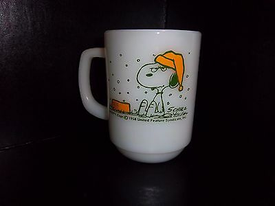 Snoopy mug cup I hate it when it snows on my French Toast Peanuts Free s/h