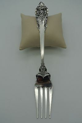Wallace Silversmiths Sterling Silver Meat Fork: Grande Baroque 1941
