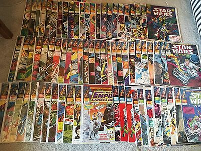 72 Issues Of Star Wars Weekly