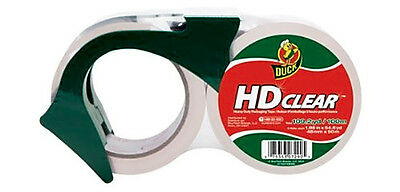 Duck Brand HD Clear High Performance Packaging Tape, 1.88-Inch x 54.6-Yard, Crys