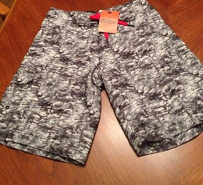 Boys Nike Board Shorts Swim Surf NWT black Gray Size 10