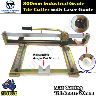 Professional Steel Structure Laser Guide 800mm Tile Cutter Tough Cutting Machine
