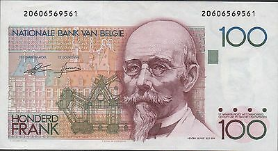 Belgium  100 Francs  ND.  1978  P 140  Circulated Banknot