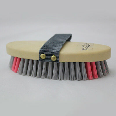 Salmon Multi Colour Body Brush Horse And Equestrian
