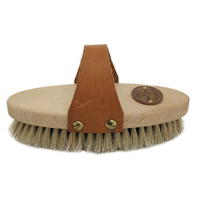 Borstiq Body Brush With Shaped Strap Horse And Equestrian