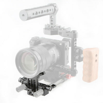 US Camvate Lens Support 15mm Rod Clamp Rail Block For DSLR Rig Rail System