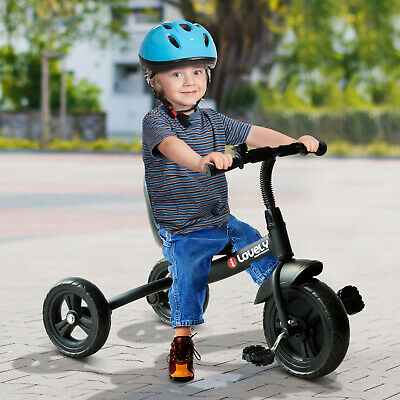 Qaba Baby Tricycle Toddler Trike Bike Ride On Steel Frame Kids Activity Sports