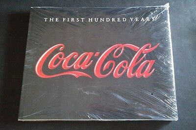 Coca Cola Book - THE FIRST HUNDRED YEARS 1986 - NEW & SEALED - Coke Advertising