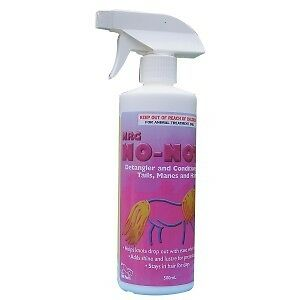 Nrg No Nots Mane And Tail Detangler 500Ml Horse And Equestrian