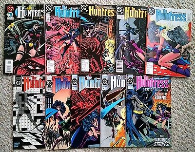The Huntress #1, 3, 4, 5, 6, 8, 14 - 17 - 10 Issue Lot