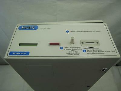 Jamex Copier Coin Only Vending System Model 6552 Nickel Dime Quarter $1 Coins