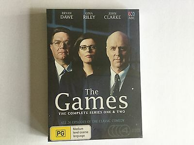 The Games - Complete Series (DVD, 2016, 4-Disc Set) R4 ABC brand new sealed