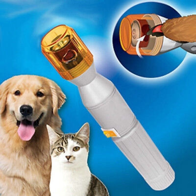 2018 Safe Pet Dog Cat Nail Claw Grooming Grinder Trimmer Clipper Electric Nail