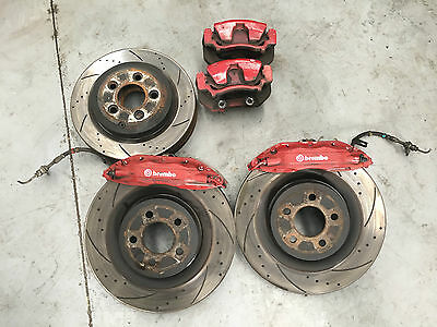Ford Fpv Fg Brembo Brakes Front And Rear Kit Discs Falcon Xr6 Xr8 Turbo Gs Ba Bf
