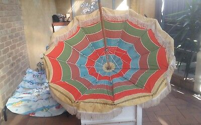 picnic umbrella antique vintage