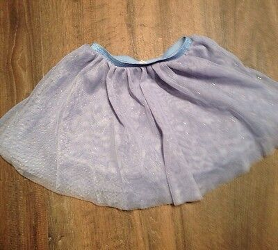 Zara Baby girl Glitter Tutu Blue Tutu Skirt Size 2/3 years