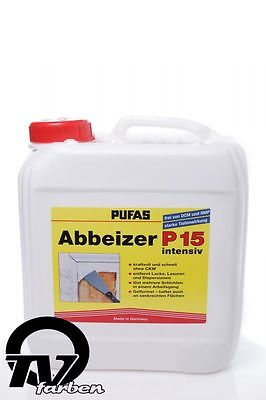 Pufas Paint stripper P15 intensive 2.5l Decoaters Strippers Paint strippers