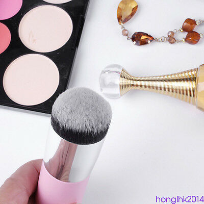 1 x ronde tête fondation maquillage de poudre maquillage BB Cream Soft Brush