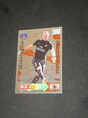 DOUCHEZ PSG PARIS GERMAIN GARDIEN Trading card carte ADRENALYN PANINI 2011-2012