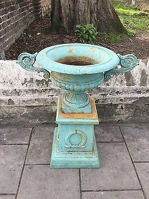Cast Iron Urn / Planter Architectural Salvage