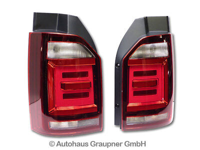 vw t6 voll led light bar r ckleuchten dynamische blinker. Black Bedroom Furniture Sets. Home Design Ideas