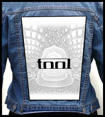 TOOL --- Giant Backpatch Back Patch / A Perfect Circle Puscifer Deftones