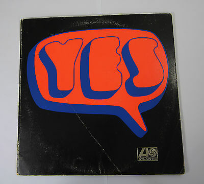 Yes – s/t – 1st press Atlantic plum & red label 588190 1969: Prog Rock Vinyl LP