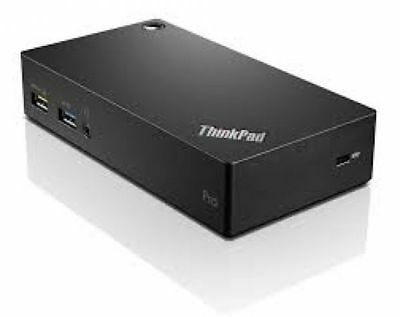 Lenovo 40A70045EU ThinkPad USB 3.0 Pro Dock - USB-Docking-Station - GigE - 45 Wa