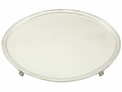 Antique Georgian Sterling Silver Salver (1794)