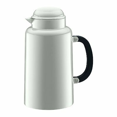 Bodum Chambord Carafe Thermos Vacuum Jug Tea Coffee 1.0L White