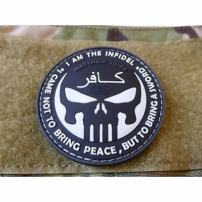 JTG The Infidel Punisher Patch, swat / 3D Rubber Patch