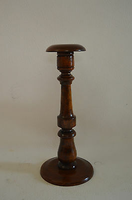 Lovely wooden hat stand/ hat block  40 cm high