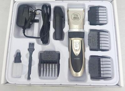 Low Noise Cordless Pet Dogs and Cats Electric Clippers Grooming Trimming Kit