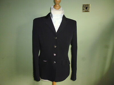 Pikeur Romina easycare black ladies competition show jacket size 40 or UK 12