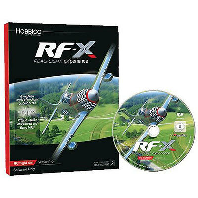 RealFlight RF-X Flight Simulator Software Only - A-GPMZ4548