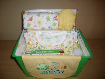 "Baby ""I Love Daddy"" Baby Shower Gift Basket or Centerpiece"