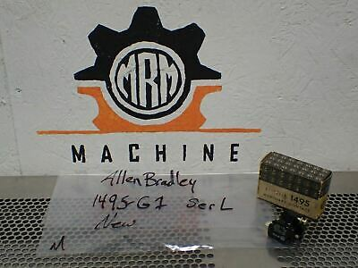 Allen Bradley 1495-G1 Ser L Auxiliary Contact Block NC Size 1 & 2 New In Box