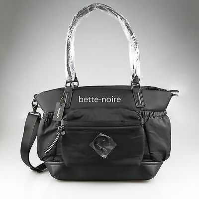 MIMCO Splendiosa Baby Bag Matte Black BNWT RRP$299 Nappy Travel Lucid Gym NEW