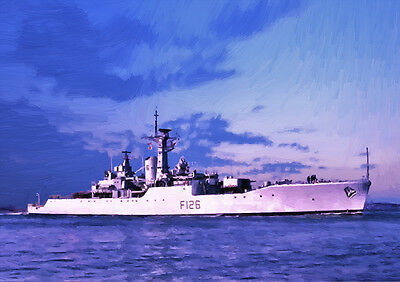 Hms Plymouth - Hand Finished, Limited Edition (25)