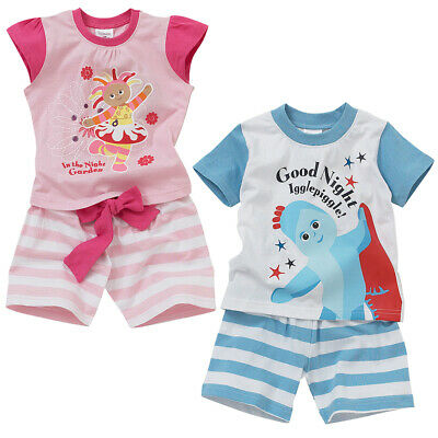In The Night Garden Shortie Pyjamas Upsy Daisy Iggle Piggle Boys Girls Cotton