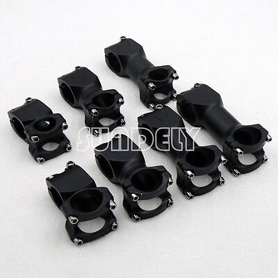 MTB Mountain Bike Road Bicycle Cycling Handlebar Stem Aluminum Alloy 25.4/31.8mm