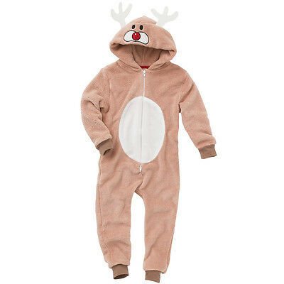 World Book Day Reindeer 1Onesie Onezi Childs Christmas Nativity Rudolph Novelty