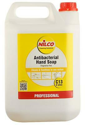 ANTIBACTERIAL HAND SOAP 5L Chemicals Cleaning - ANTIBACTERIAL HAND SOAP, 5L,