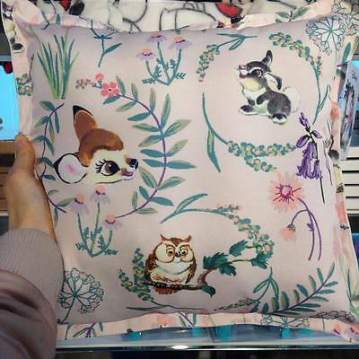 Primark DISNEY BAMBI AND THUMPER Cushion Pillow