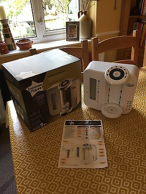 Tommee Tippee Perfect Prep Machine, Used & With Box/Manual