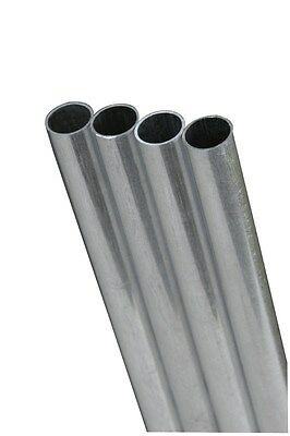 """K&S Round Tube 1/8"""" D X 12"""" L Stainless Steel - 304 Carded"""