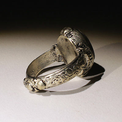 Nice Post Medieval Silver Seal Ring - No Reserve