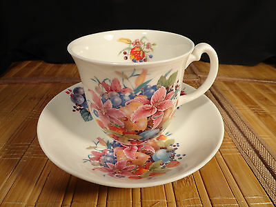 GEORGIAN Fine Bone China Cup and Saucer, Made in England