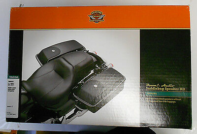 Harley-Davidson Boom! Audio Saddlebag Speaker Kit 76000202